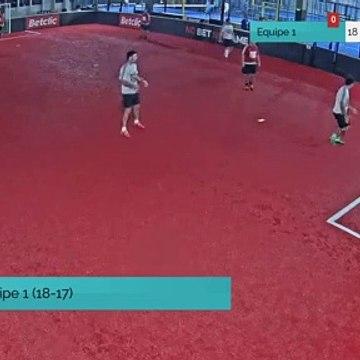 But de Equipe 1 (18-17)
