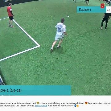 But de Equipe 1 (13-11)