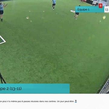 But de Equipe 2 (13-11)