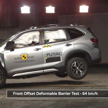 Subaru Forester - Crash & Safety Tests 2019