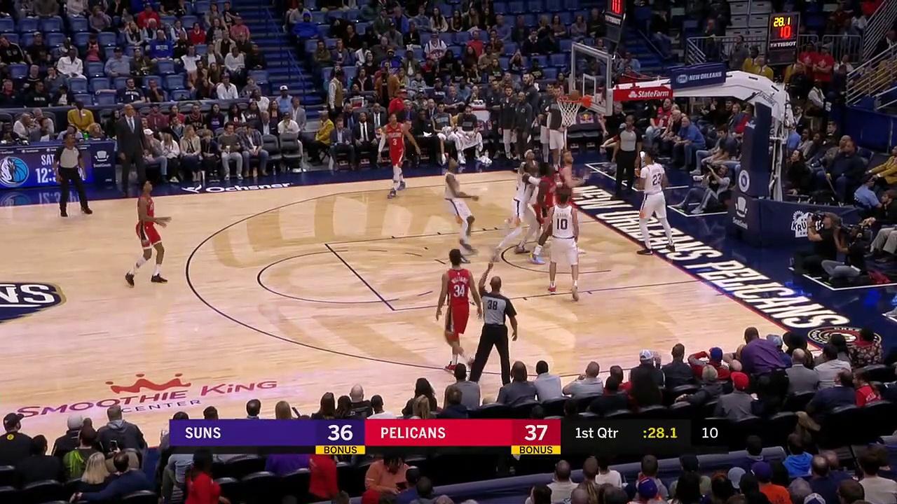 Suns 139 - 132 Pelicans