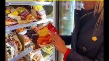 Silvia Sardone - Sono andata in un supermercato in Belgio a svelare quanto il NUTRISCORE (05.12.19)