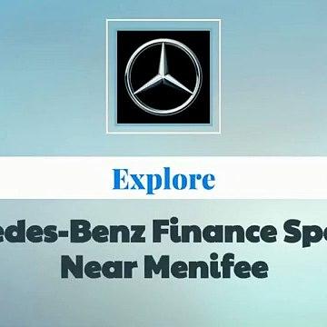 Mercedes-Benz Finance Specials Near Menifee