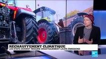 Réchauffement climatique : les états doivent réduire drastiquement leurs émissions
