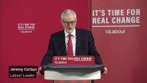 Corbyn unveils 'confidential report' on Brexit custom checks