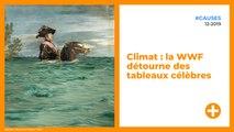 Climat : la WWF détourne des tableaux célèbres