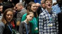 Greta Thunberg participa en la Cumbre del Clima de Madrid.