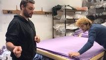 Visite des ateliers de confection de l'entreprise Aigredoux