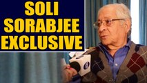 Soli Sorabjee on Telangana encounter: It is shocking and shameful | Oneindia News