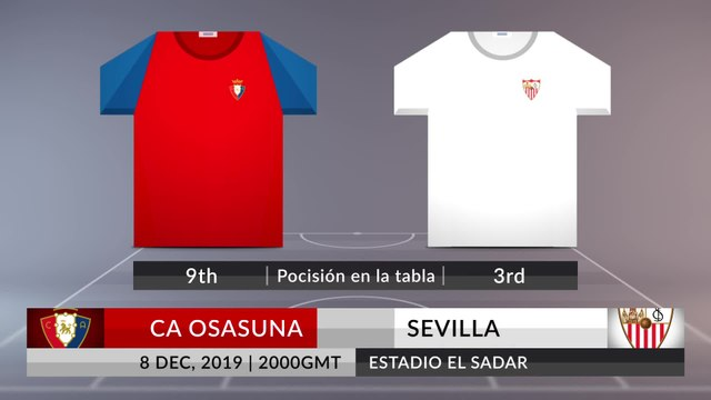 Match Preview: CA Osasuna vs Sevilla on 08/12/2019