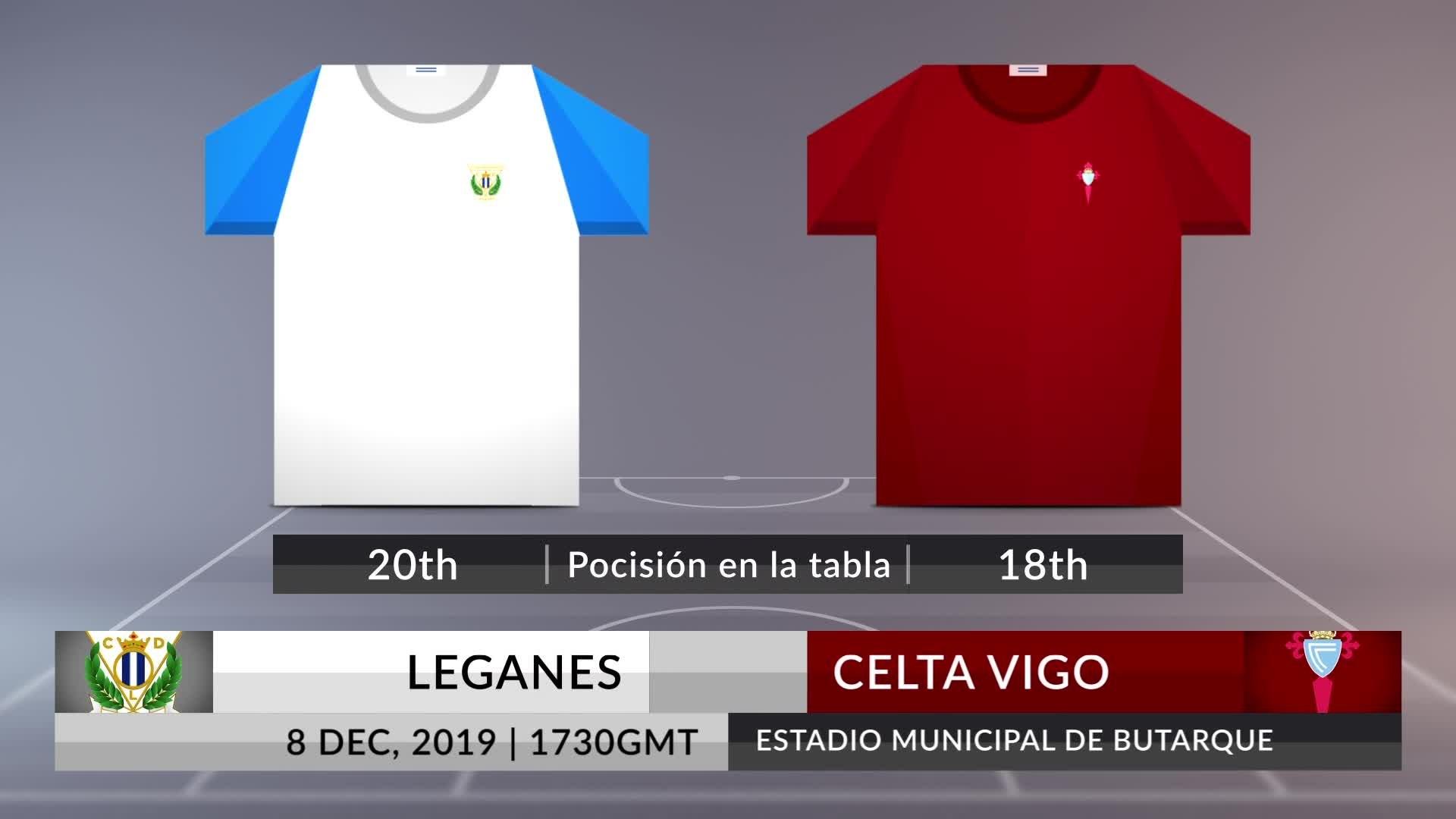 Match Preview: Leganes vs Celta Vigo on 08/12/2019
