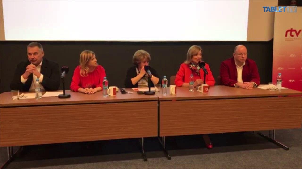 ZÁZNAM: RTVS štartuje nový televízny programový okruh Trojka