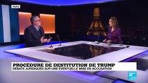 Procédure de destitution de D. Trump : débats juridiques sur une éventuelle mise en accusation
