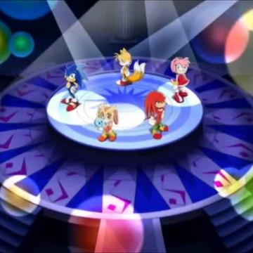 Sonic X - 2ª Abertura『SONIC DRIVE』. Instrumental (TV Size)