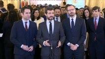 """Casado acusa a Sánchez de ir """"contra de la Constitución"""" con una agenda que """"blanquea a Podemos y ERC"""""""