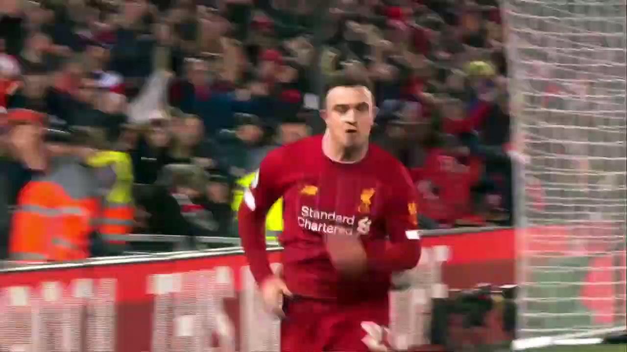 Liverpool - Everton (5-2) - Maç Özeti - Premier League 2019/20