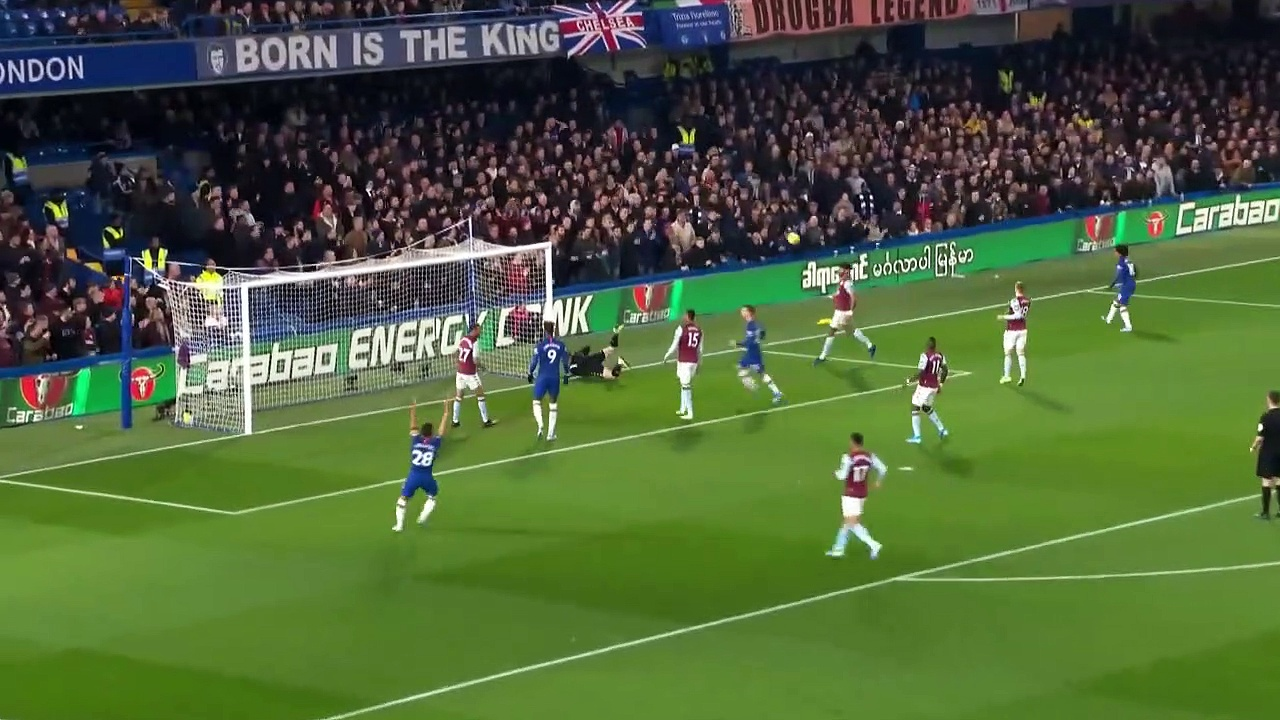 Chelsea - Aston Villa (2-1) - Maç Özeti - Premier League 2019/20