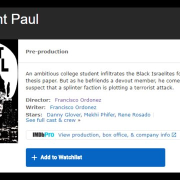 Saint Paul  the Movie is Asher revised!