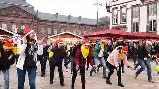 Les élèves-infirmiers de l'IFSI de Saverne se mobilisent pour le Téléthon et entament une flash-mob
