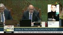 Chilenos rechazan ley que criminaliza la protesta social
