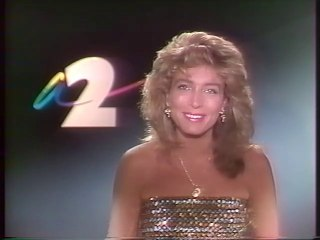 Antenne 2 - 23 Mai 1987 - Speakerine (Marie-Ange Nardi), fermeture antenne