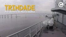De padaria a bar: conheça todos os compartimentos do navio Bahia