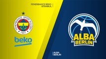 Fenerbahce Beko Istanbul - ALBA Berlin Highlights | Turkish Airlines EuroLeague, RS Round 12