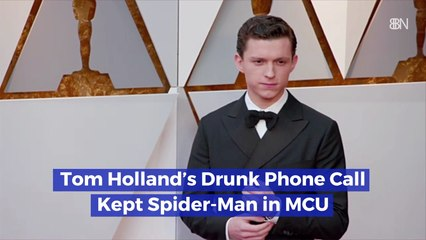 Spider-Man's Drunk Phone Call