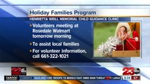 Henrietta Weill Memorial Child Guidance Clinic preparing for Holiday Families Program