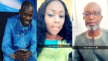 "Bouba Ndour raille Pape Cheikh Diallo devant sa femme Kya Aidara et lance ""mane meew laay sango té Pape Cheikh..."""""