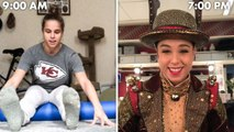 A Rockette's Entire Routine, from Waking Up to Showtime