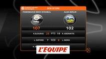 Fenerbahçe s'impose face au Alba Berlin - Basket - Euroligue (H)