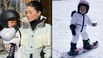 Stormi Snowboarding Video Goes Viral & Jordyn Woods Reacts To Khloe Kardashian Forgiving Her