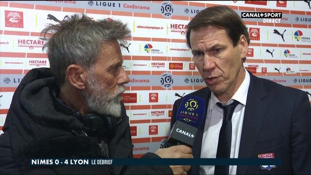 Late Football Club - La réaction de Rudi Garcia après Nîmes / Lyon