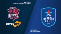 KIROLBET Baskonia Vitoria-Gasteiz - Anadolu Efes Istanbul Highlights | EuroLeague, RS Round 12