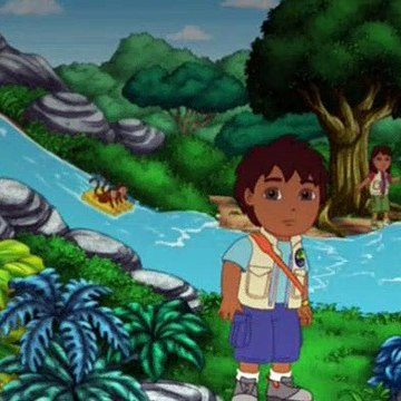 Go Diego Go S02E18 Diego and Alicia Save The Otters-Indi