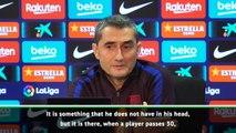 Messi won't be retiring just yet - Valverde