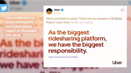 Uber reports that, on average, eight women are sexually assaulted in its vehicles every day