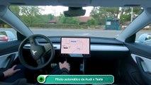 Piloto automático da Audi x Tesla