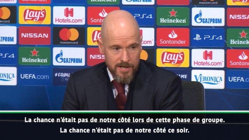 """Ajax - Ten Hag : """"La qualification de Valence est un miracle"""""""