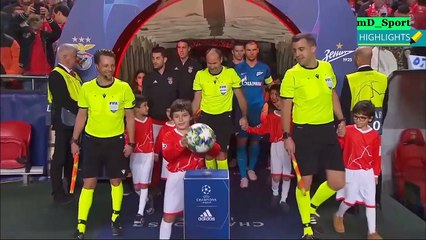 Benfica 3-0 Zenit All Goals & Highlights - 2019⚽⚽⚽