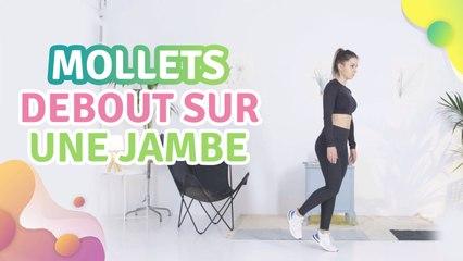 MOLLETS DEBOUT SUR UNE JAMBE - Améliore ta santé