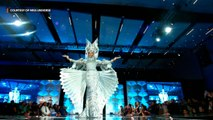 Gazini Ganados at the Miss Universe 2019 preliminaries