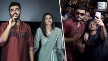Arjun Kapoor And Kriti Sanon Surprise Fans By Visiting Theatre | Panipat