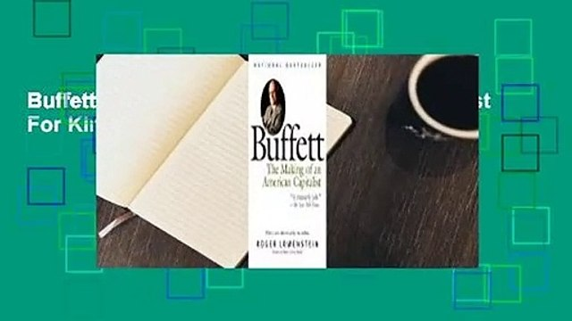 Buffett: The Making of an American Capitalist  For Kindle