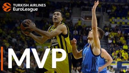 Round 12 MVP: Kostas Sloukas, Fenerbahce Beko Istanbul
