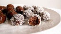 Choc Mint Bliss Balls - Recipe RFHB