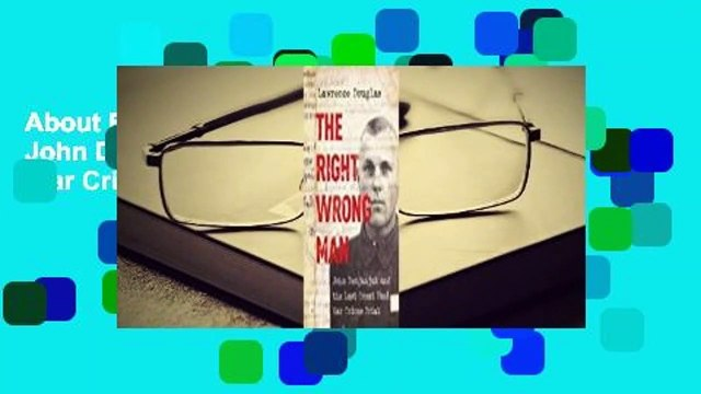 About For Books  The Right Wrong Man: John Demjanjuk and the Last Great Nazi War Crimes Trial