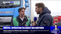 Taxe carbone: en colère, les routiers mènent ce samedi des opérations escargots partout en France