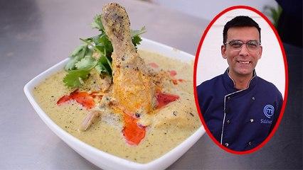 Cream Chicken Recipe in Hindi   Creamy Chicken Recipe by Master Chef Contestant Siddharth Talwar